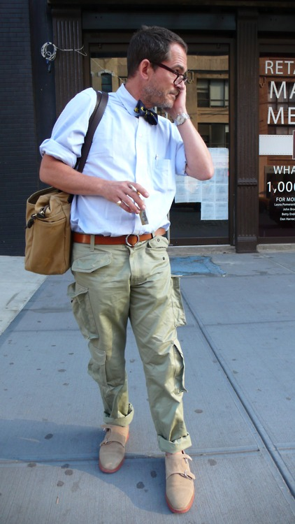 Black Double Strap Monk Shoes Khakis
