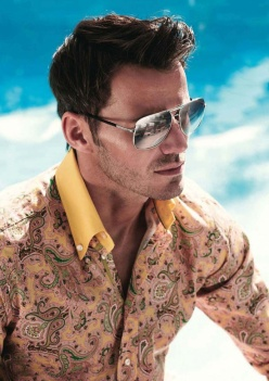 etro italiano dandy shirt floral